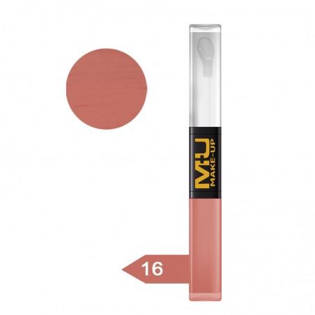 Mu Make Up - Lip Gloss Duo 16