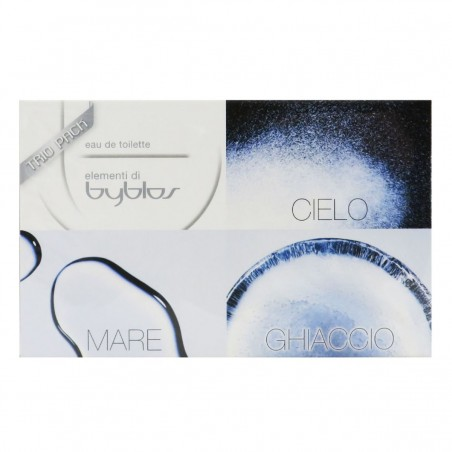 Byblos - Trio Elementi di Byblos Cielo-Mare-Ghiaccio 3X15ML Set Profumo EDT