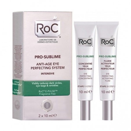Roc - Pro Sublime Anti Age Eye Perfecting System 2x10ML